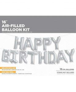 folie ballon fødselsdags kit