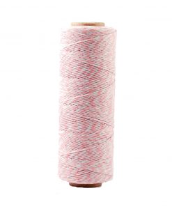 Bakers twine i baby lyserød