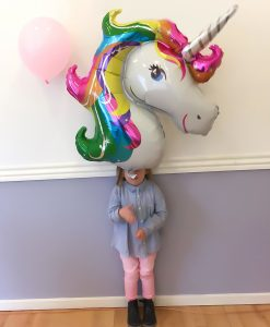 stor folie unicorn ballon