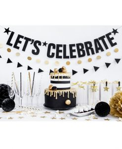 """Let's celebrate"" guirlande - DIY"