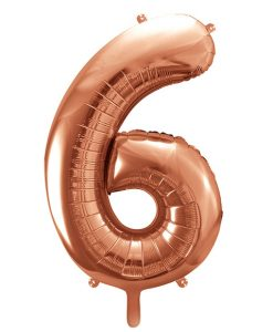 Stor rose gold ballon folie tal