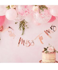 Miss To Mrs guirlande - Hen Party