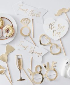Photo props bryllup