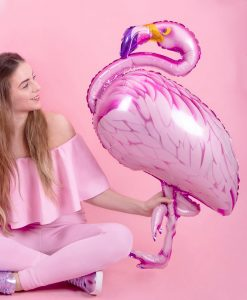 stor flamingo folie ballon