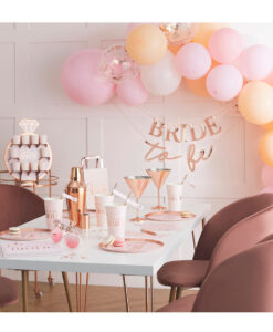 polterabend bridal shower pynt