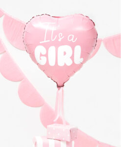 It's a girl folieballon